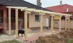 terasz építés